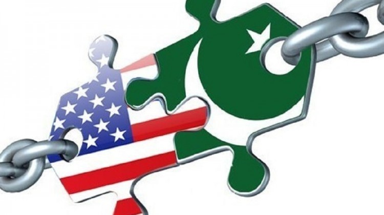 PAKISTAN-US-RELATIONS-CHAINED-FLAGS