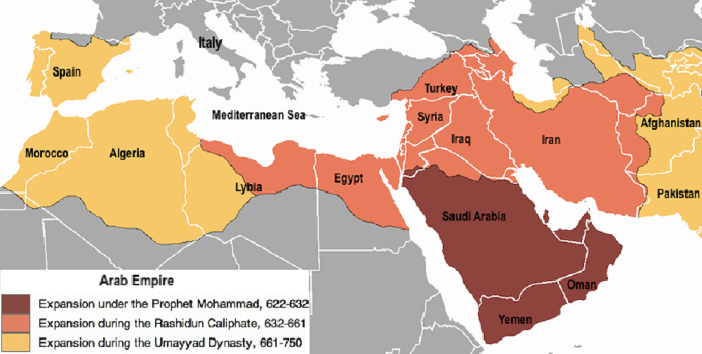 arab-empire-under-omayyad-caliphate